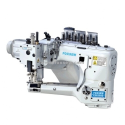 Direct Drive 4 Needle 6 Thread Feed-off-the-arm flat Seaming Machine