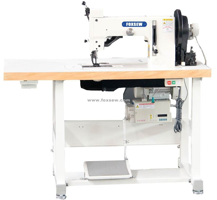 Top and Bottom Feed Two Points Thick Thread Zigzag Sewing Machine