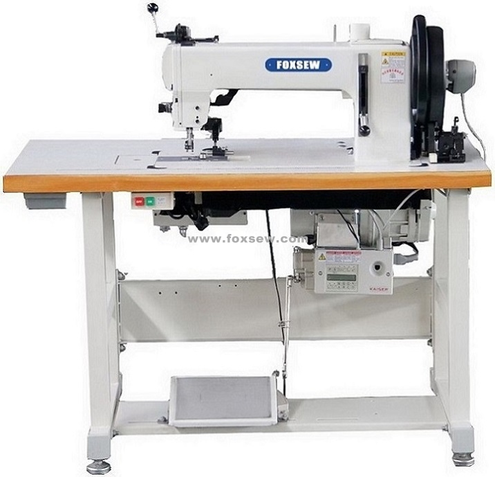 Flatbed Extra Heavy Duty Thick Thread Leather Upholstery Sewing Machine
