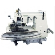 33 Needle Flat-bed Double Chain Stitch Sewing Machine (tuck fabric seaming)