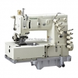 4-needle flat-bed double chain-stitch machine for waistband