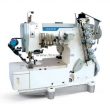 Flatbed Interlock Sewing Machine with Top and Bottom Thread Trimmer