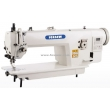 Direct Drive Automatic Trimmer Top and Bottom Feed Heavy Duty Lockstitch Sewing Machine