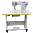 Single Needle Roller Feed Postbed Sewing Machine with Automatic Thread Trimmer and Backtacking
