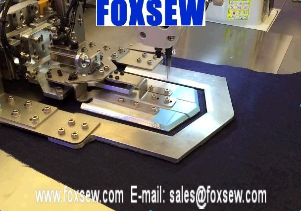 Automatic Pattern Sewing Machine for Back Pocket